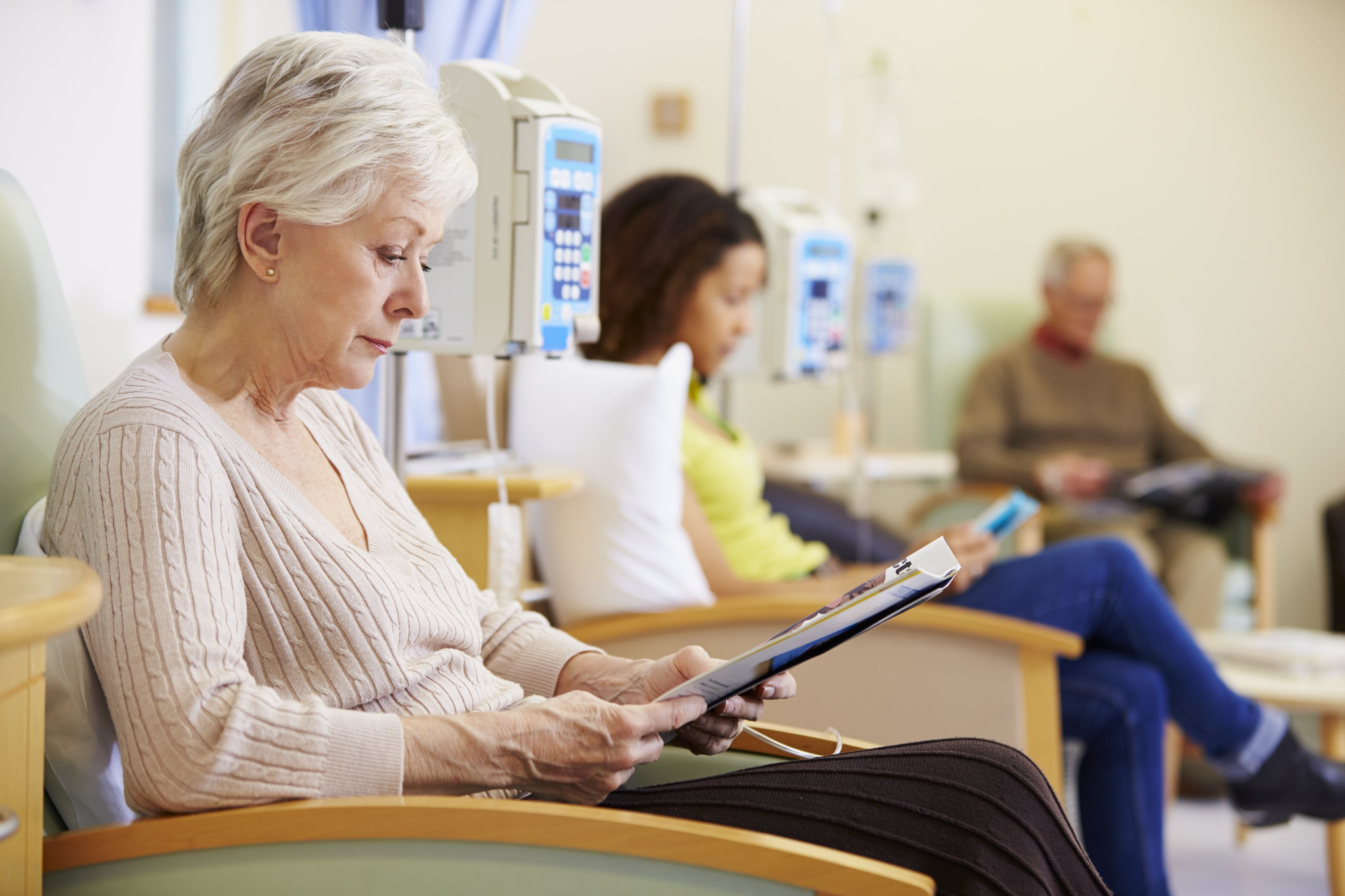 Preparing for chemotherapy treatments
